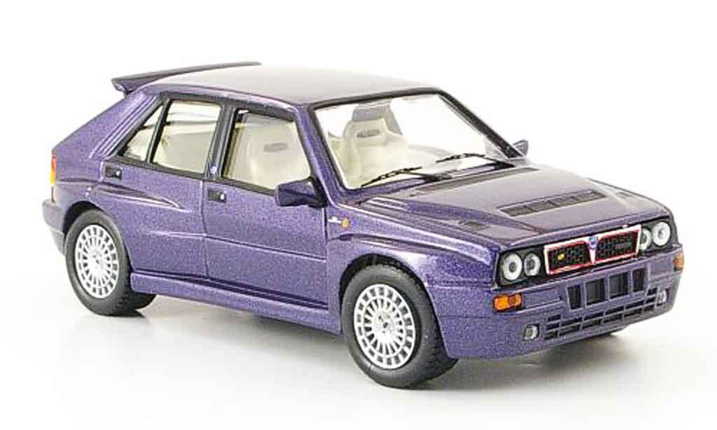 Lancia Delta HF Integrale 1/43 IXO hf integrale purpura maggiora factory 1994 miniatura
