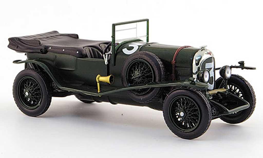 Bentley 3 1/43 IXO No. Davis/ Benjafield Sieger 1927 Le Mans miniature