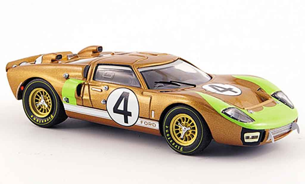 Ford GT 40 1/43 IXO MK II No.4 Hawkins  Donohue Le Mans 1966 miniatura
