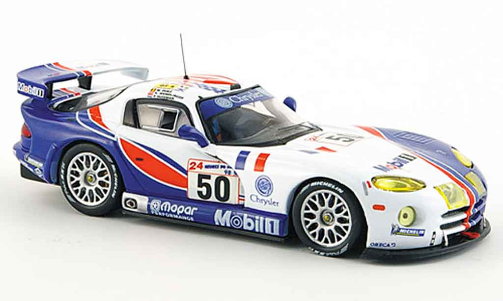 Dodge Viper GTS R 1/43 IXO No.50 Team Oreca Le Mans 1998 miniature