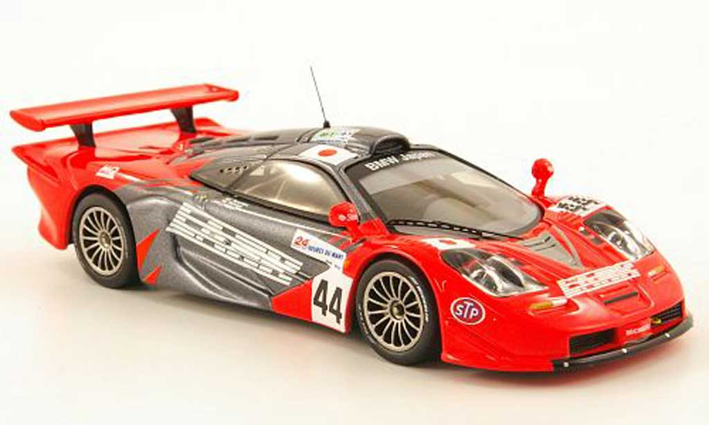 McLaren F1 1/43 IXO GTR No.44 Bmw Japan 24h Le Mans 1997 miniature