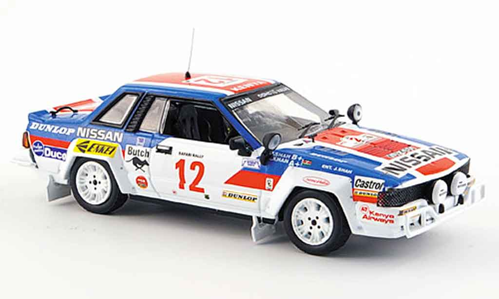 Nissan 240 RS 1/43 IXO No.12 Vierter Rallye Safari 1983 miniature
