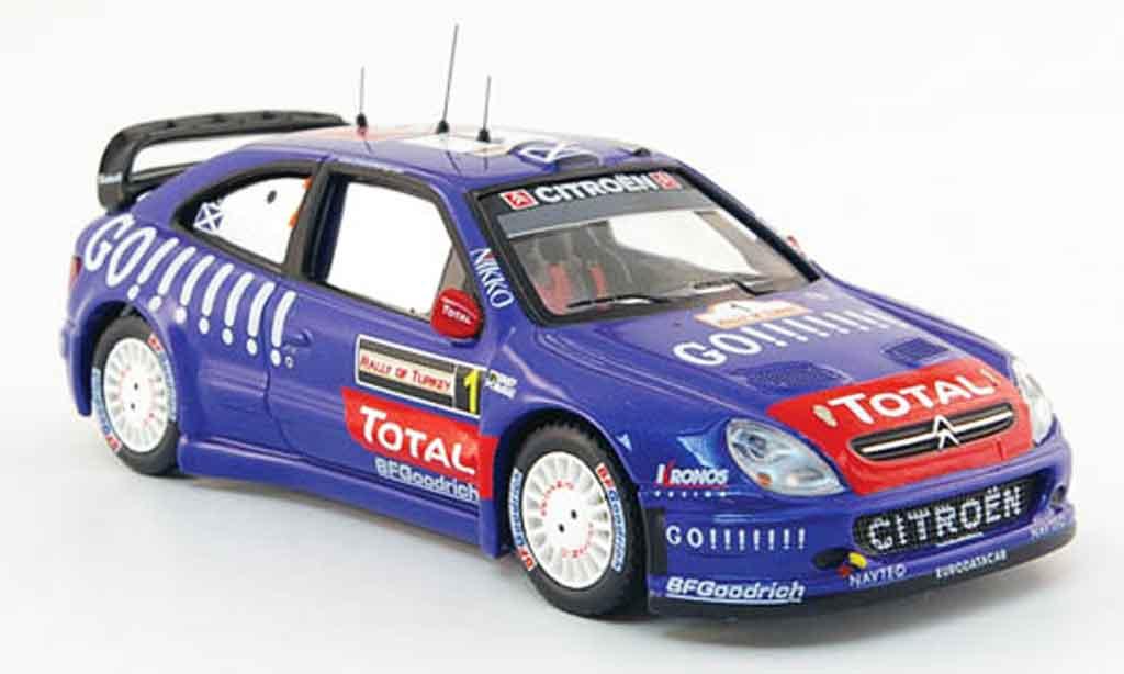 Citroen Xsara WRC 2006 1/43 IXO no.1 go!!!!!!! rallye turkei miniature
