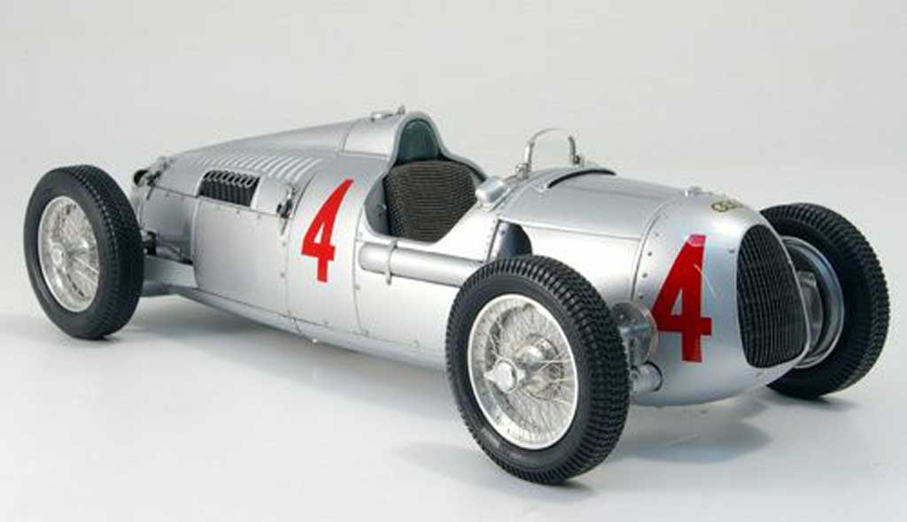 Auto Union Typ C 1/18 CMC no.4 rosemeyer nurburgring 1936 miniature