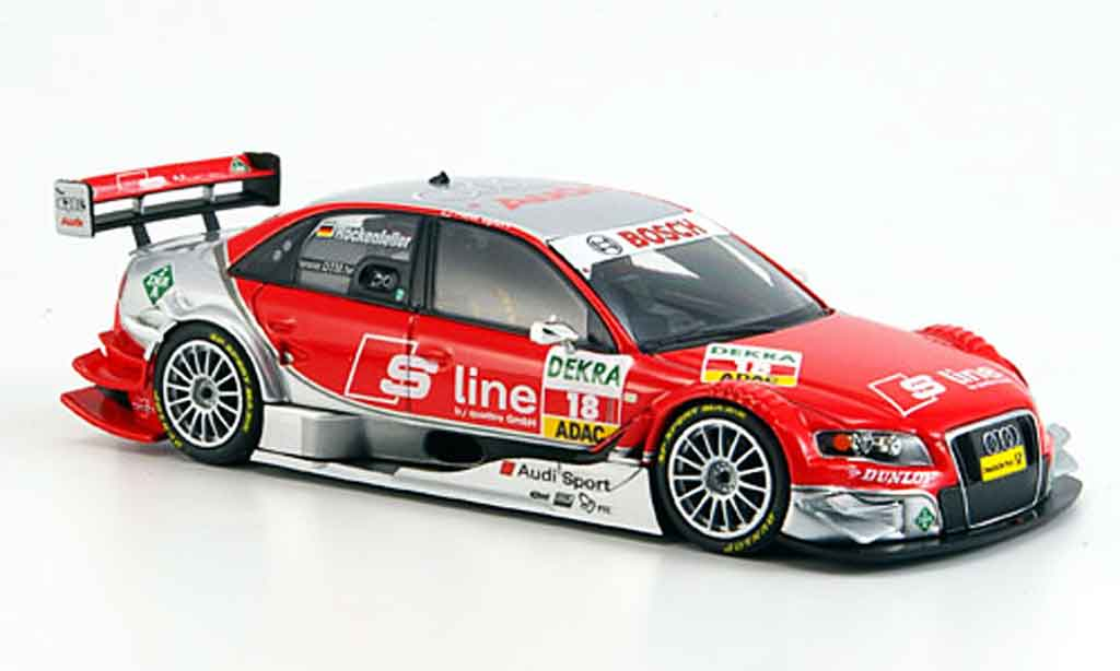 Audi A4 DTM 1/43 Minichamps Rosberg Rockenfeller S Line Team 2008 modellautos