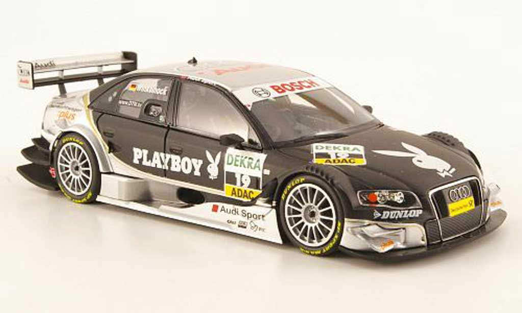 Audi A4 DTM 1/43 Minichamps No.19 Playboy Team Rosberg 2008 miniature