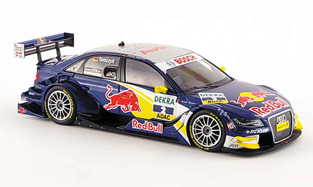 Audi A4 DTM 1/43 Minichamps Abt  Tomczyk Red Bull Team 2008 miniature