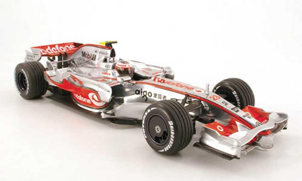 Mercedes F1 1/18 Minichamps mclaren mp 4 23 heikki kovaleinen 2008 miniatura
