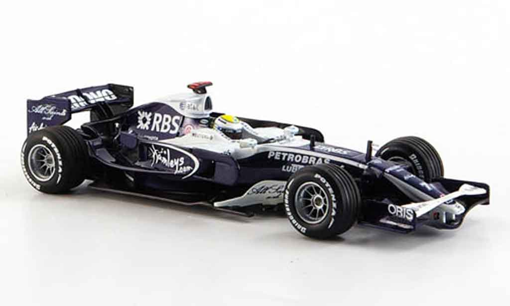 Toyota F1 1/43 Minichamps at & t williams fw 30 rosberg 2008 miniature