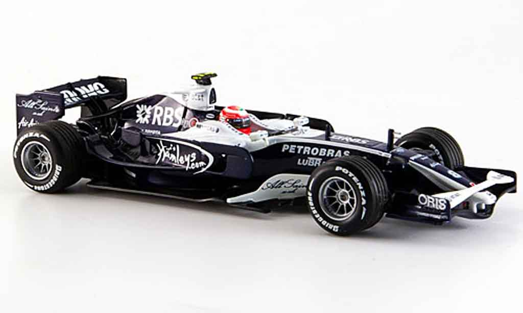 Toyota F1 1/43 Minichamps willams at & t toyota fw 30 nakajima 2008 miniature