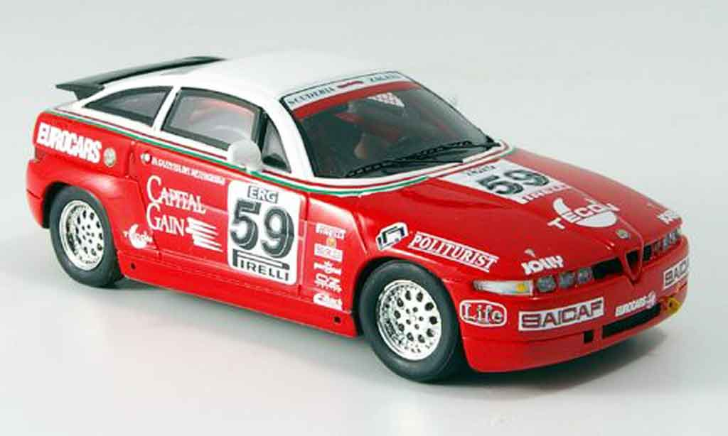 Alfa Romeo Giulietta SZ 1/43 Spark no.59 trophy 1991 miniatura