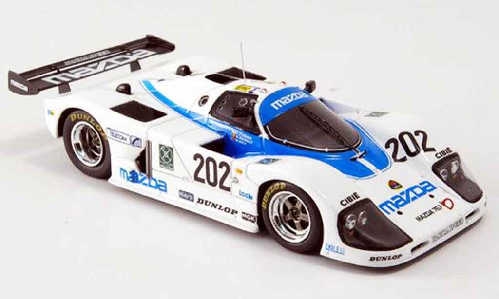 Mazda 767B 1/43 Spark No.202 Yorino Regout Hoy Le Mans 1988 miniature