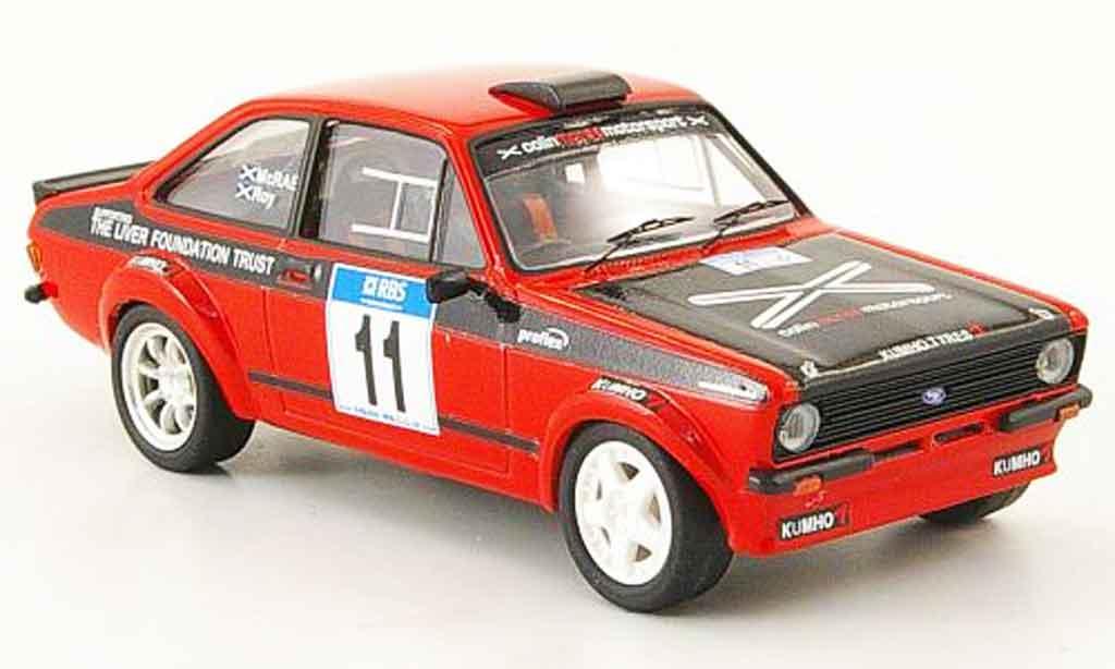 Ford Escort MK2 1/43 Trofeu No.11 McRae Roy Rallye Manx 2007 miniature