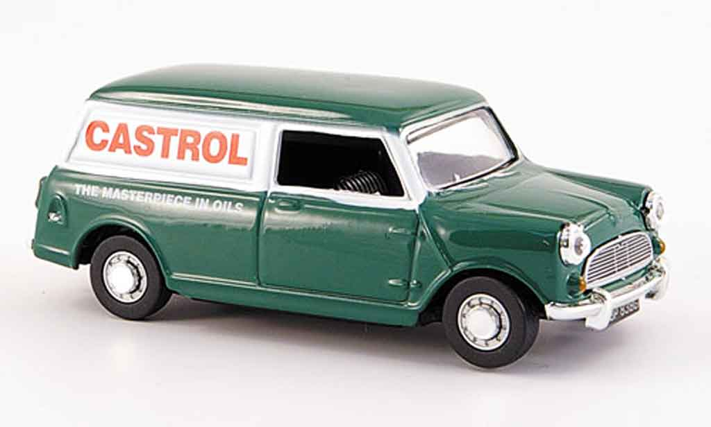 Austin Mini Van 1/43 Oxford Castrol miniature