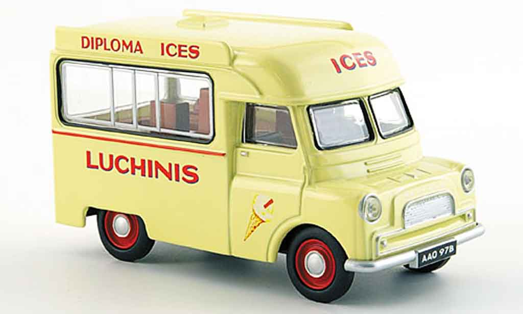 Bedford CA 1/43 Oxford Van Luchinis Ice Cream miniature