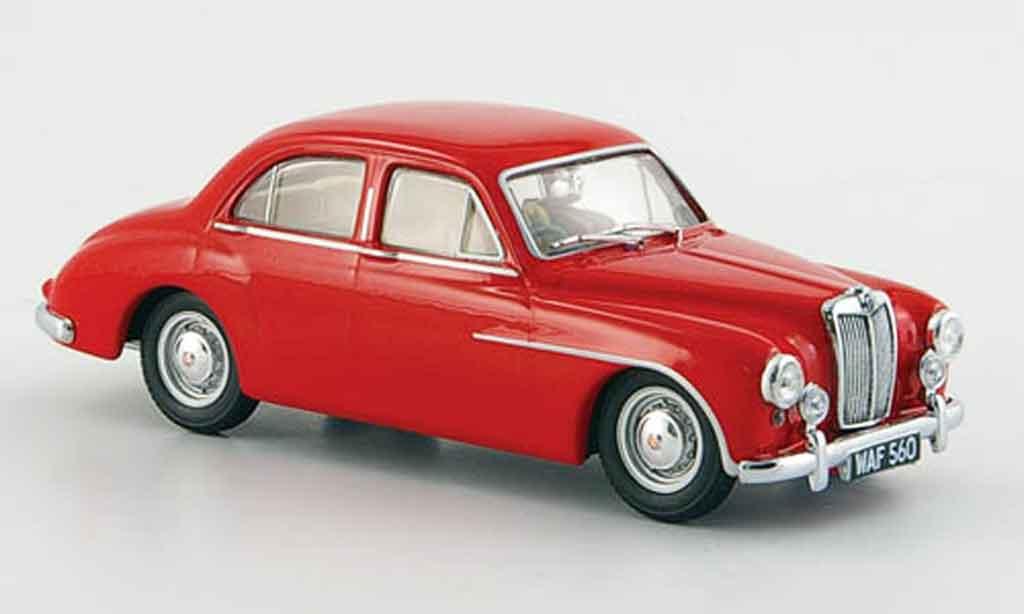 MG ZA 1/43 Oxford Magnette rouge miniature