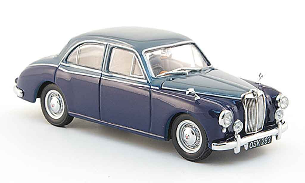 MG ZB 1/43 Oxford Varitone bleu grise miniature