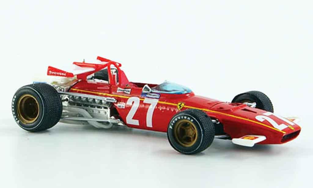 Ferrari 312 B 1/43 Brumm b no.27 jacky ickx gp belgien 1970 miniature