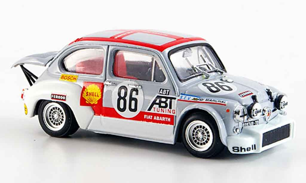 Fiat Abarth 1000 1/43 Brumm TCR No. 86 Abt Grano 24 Stunden Spa 1970