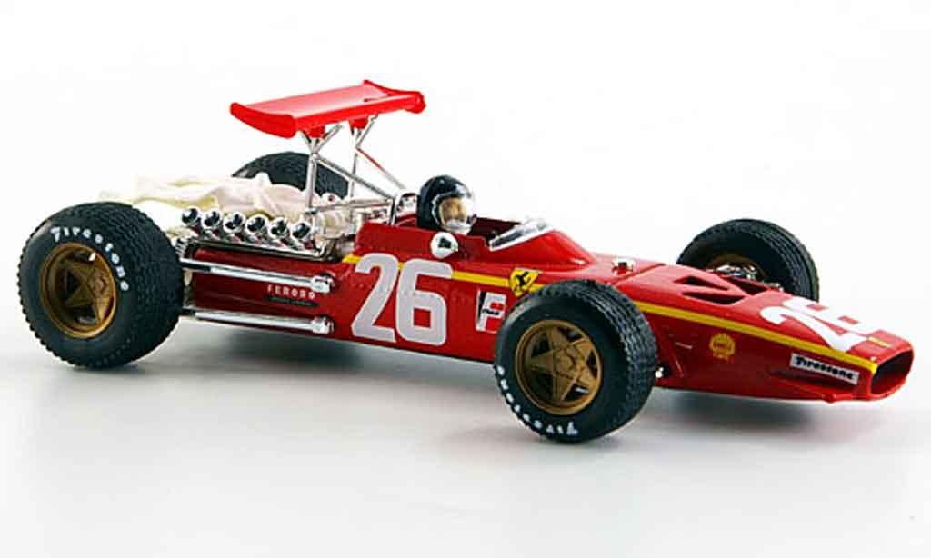 Ferrari 312 F1 1/43 Brumm f1no.26 jacky ickx 40.jubilaum 1968 2008 1968 miniature