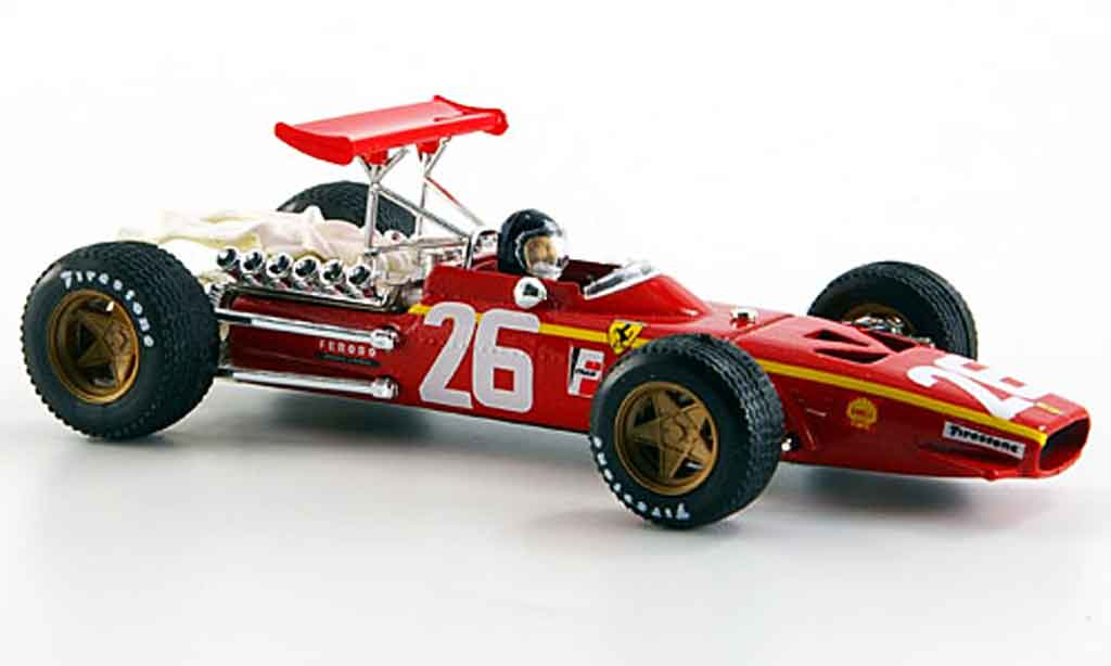 Ferrari 312 F1 1/43 Brumm f1no.26 jacky ickx 40.jubilaum 1968 2008 1968 modellautos