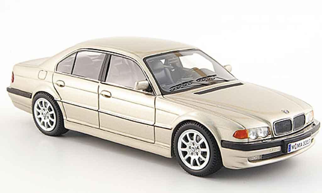 Bmw 740 E38 1/43 Neo D beige 2000 miniature