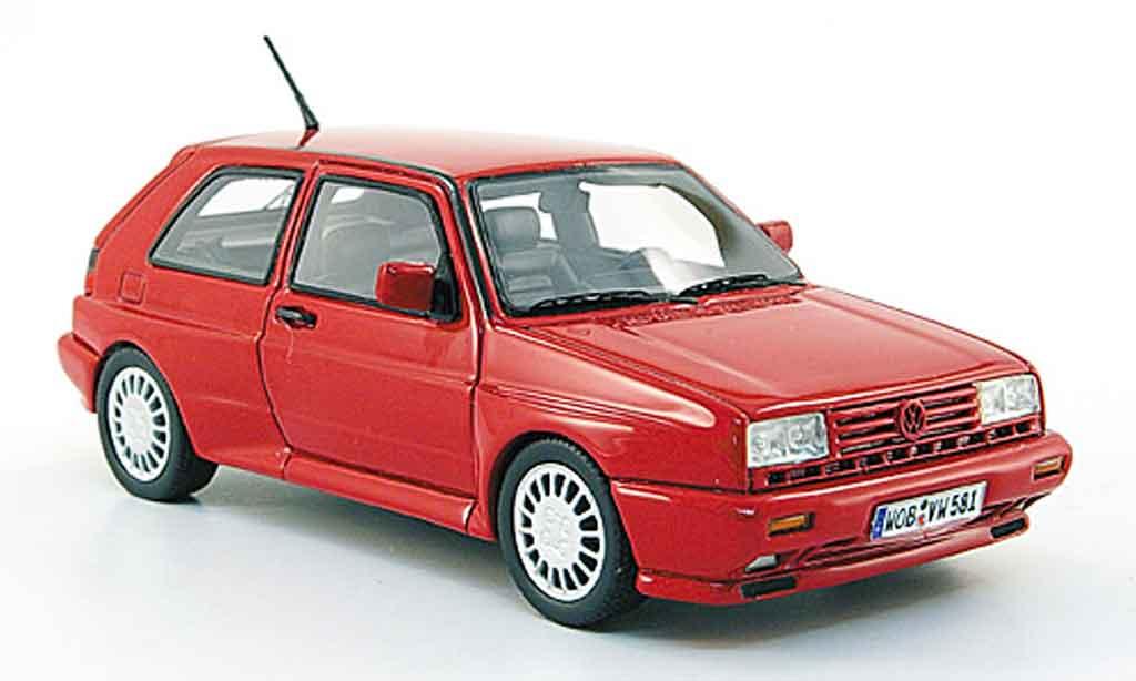 Volkswagen Golf 2 Rallye 1/43 Neo G60 rouge
