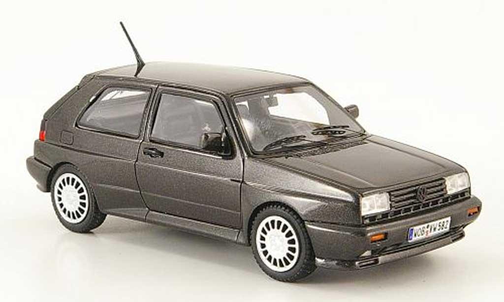Volkswagen Golf 2 Rallye 1/43 Neo G60 noire miniature