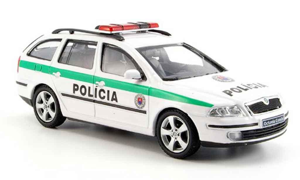Skoda Octavia 1/43 Abrex combi slowakische police 2004 diecast model cars