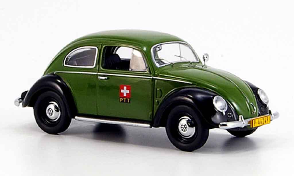 Volkswagen Coccinelle 1/43 Schuco ptt storungsdienst diecast
