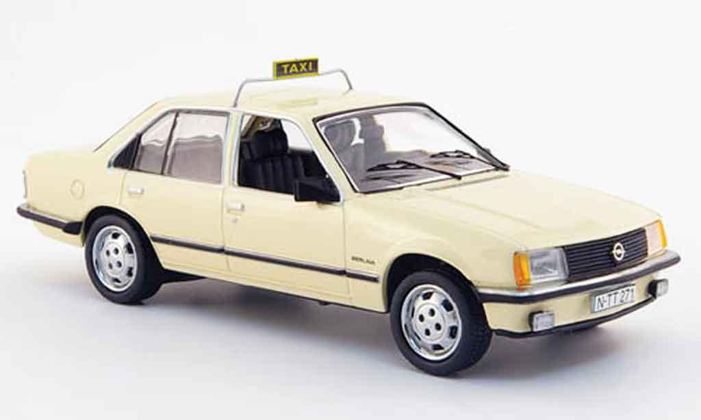Opel Rekord 1/43 Schuco e taxi miniature