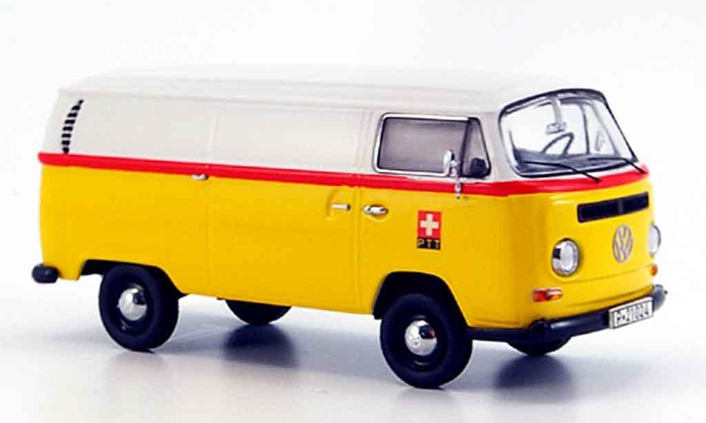 Volkswagen Combi 1/43 Schuco t2a kasten ptt diecast