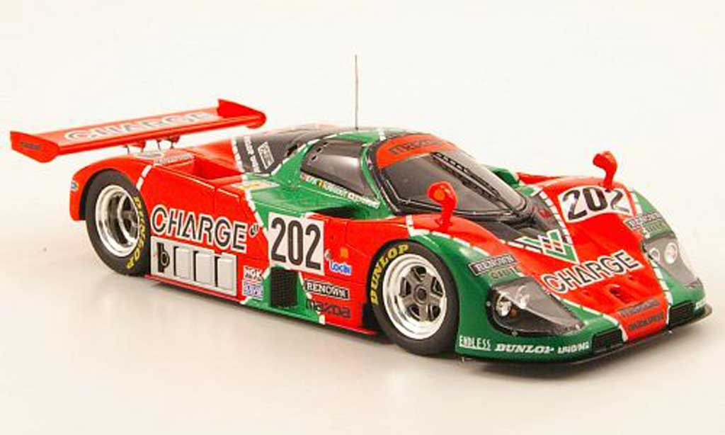 Mazda 767B 1/43 Spark No.202 Charge 24h Le Mans 1989 miniature