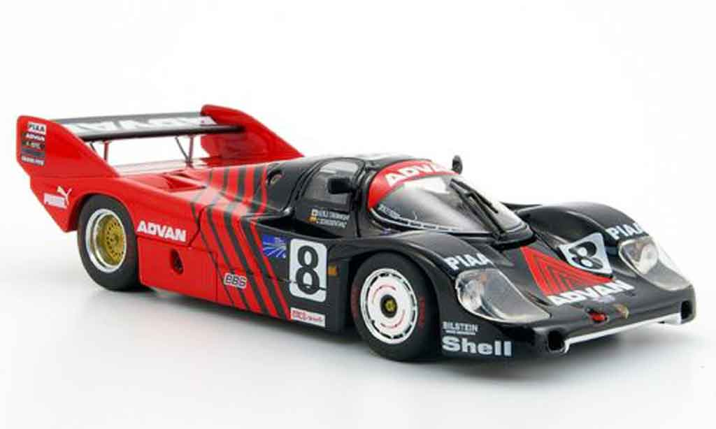 Porsche 956 1983 1/43 Ebbro WEC Advan Japan miniature