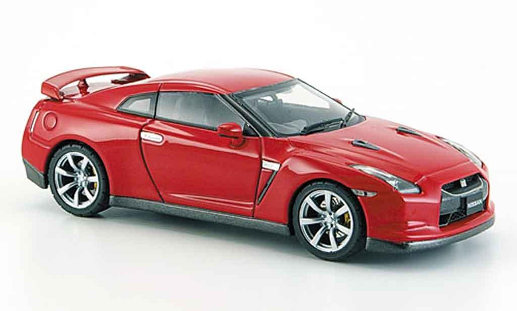 Nissan Skyline R35 1/43 Ebbro GT R rosso 2007 miniatura