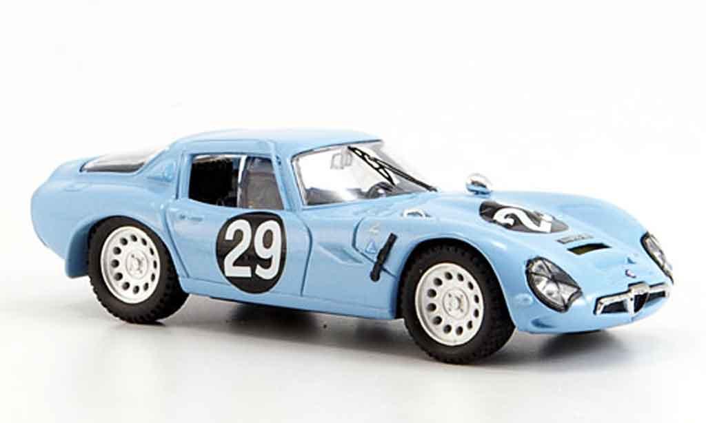 Alfa Romeo TZ2 1/43 Best no.29 volontero sangri la monza 1967 coche miniatura