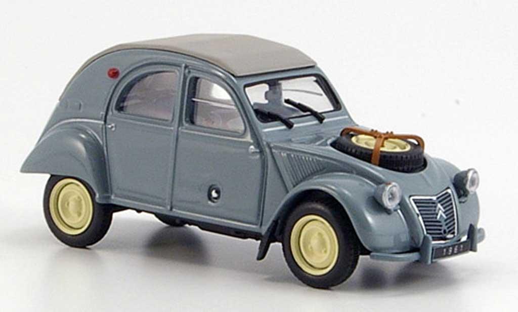 Citroen 2CV 1/43 Hachette 4x4 Sahara 1961 miniature