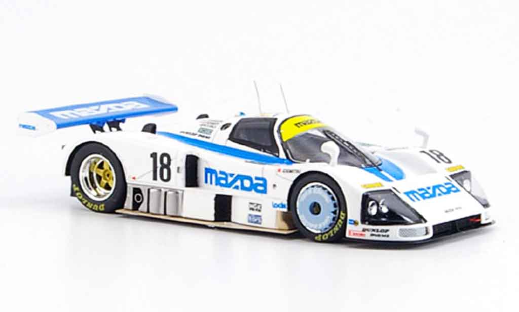 Mazda 787B 1/43 Spark No.18 Sechster Le Mans 1991 miniature