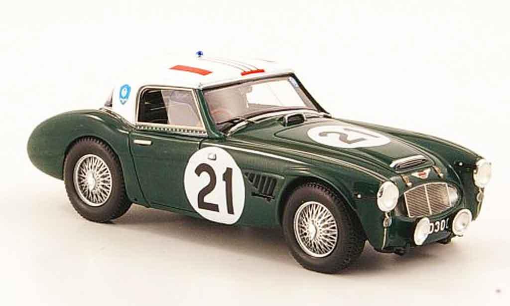 Austin Healey 3000 1/43 Spark No.21 Stoop Beckaert 24h Le Mans 1961 miniature