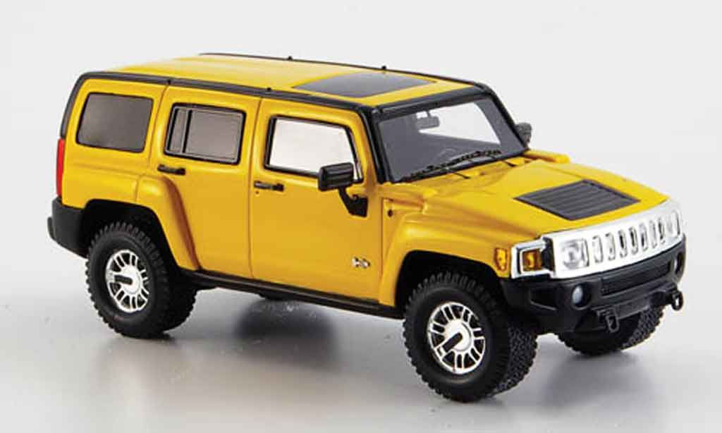 Hummer H3 1/43 Spark yellow 2006 diecast model cars