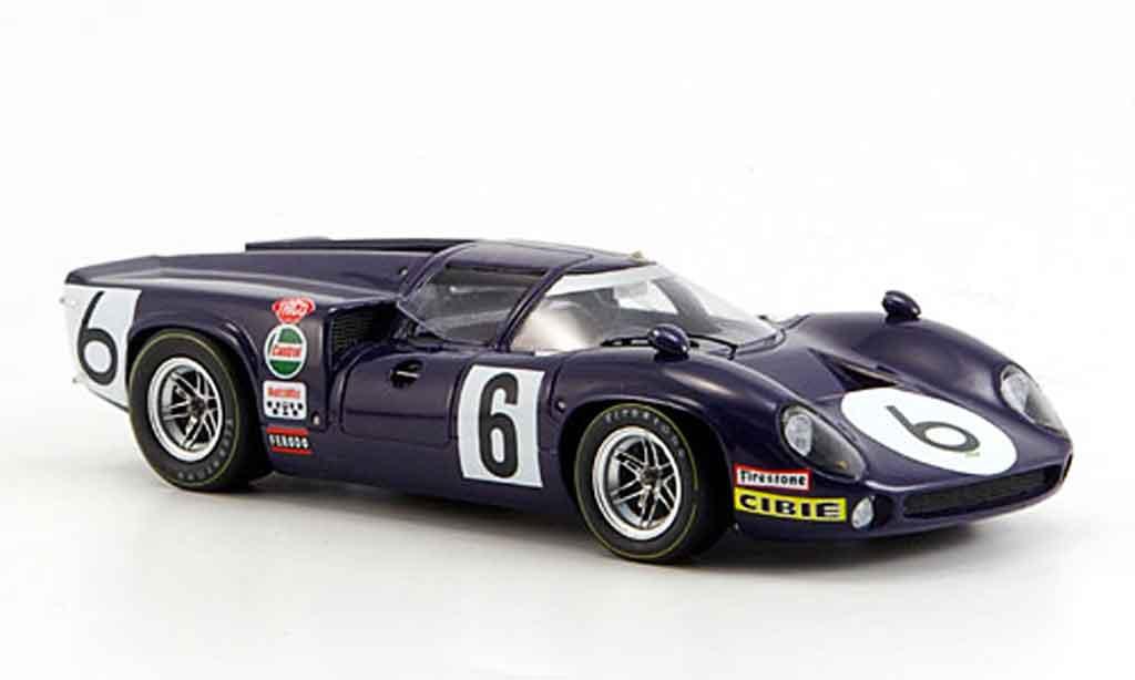 Lola T70 1/43 Spark MK3 No.6 Le Mans Eppstein Nelson 1968 miniature