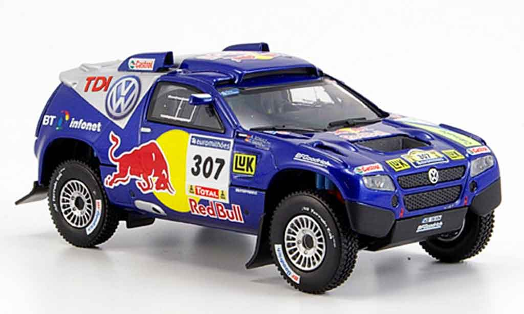 Volkswagen Touareg 1/43 Norev no.307 paris dakar 2006 diecast model cars
