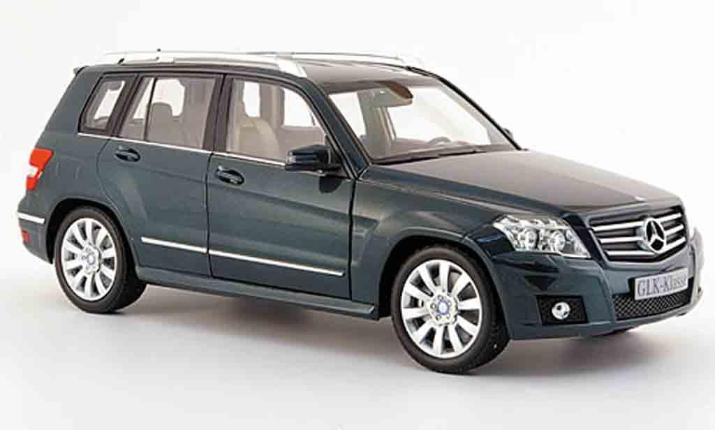 Mercedes Classe GLK 1/18 Minichamps (x 204) sport verde 2008 miniatura