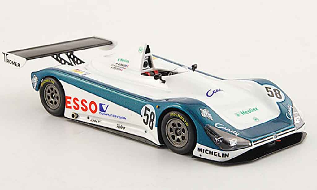 Peugeot 905 1992 1/43 Spark spider no.58 24 h le mans miniature