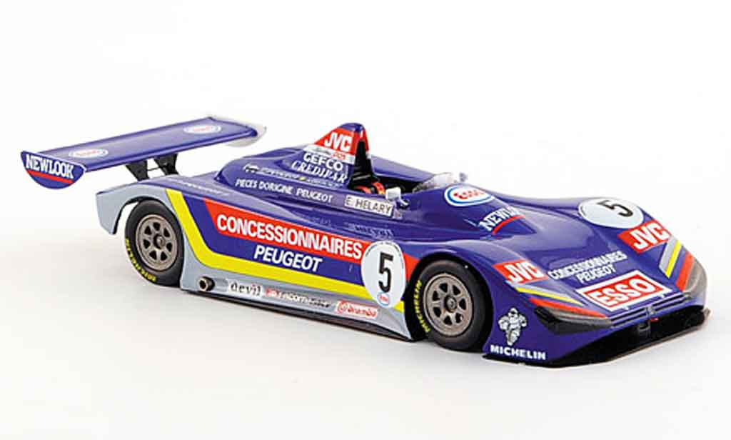 Peugeot 905 1992 1/43 Spark spider no.5 esso sieger europa cup miniature