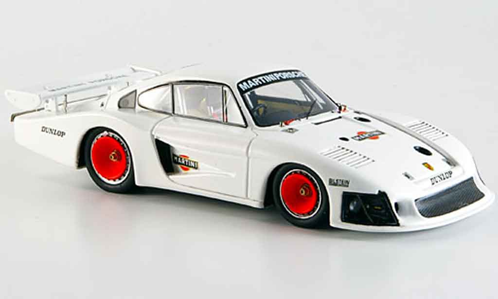 Porsche 935 1/43 Spark Moby Dick Test Paul Ricard miniature