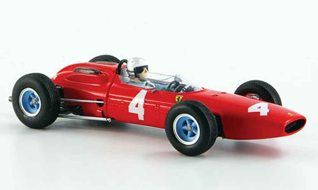 Ferrari 158 1964 1/43 Red Line no.4 gp holland bandini miniature