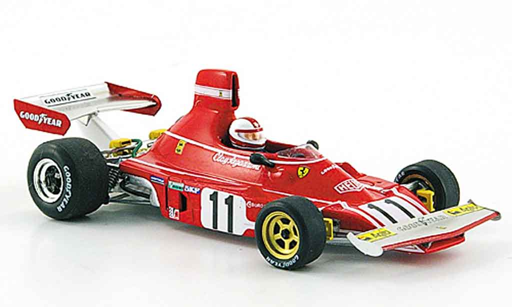 Ferrari 312 B 1/43 Red Line b 3 no.11 c.regazzoni sieger gp deutschland 1974 diecast model cars
