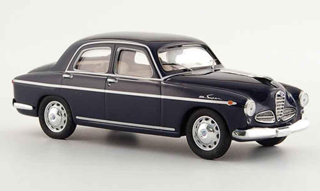 Alfa Romeo 1900 Super 1/43 M4 bleu 1950 diecast
