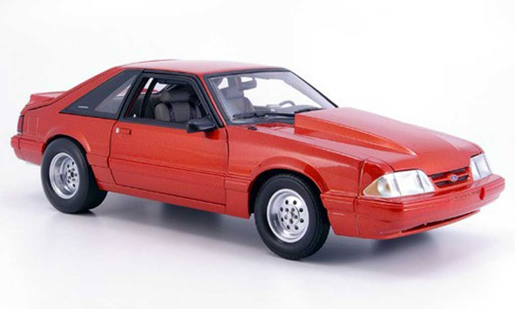 Ford Mustang 1985 1/18 GMP lx drag cuivre diecast model cars